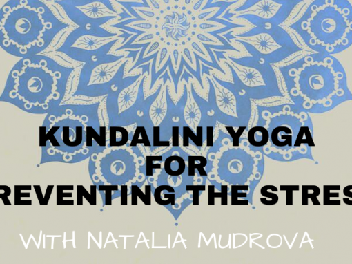 Workshops with Natalia Mudrova. Preventing the stress & meditation with Tibetan bowls